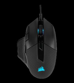 CORSAIR Mouse Nightsword RGB, Performance TunableFPS/MOBA Gaming Mouse