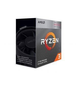 AMD Ryzen 3 3200G 3rd Generation CPU (4MB Cache, upto 4.00GHz)