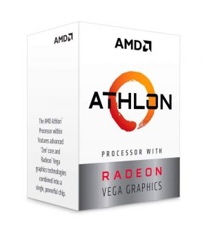 AMD Athlon 200GE 2nd Generation CPU (4MB Cache, 3.20GHz)