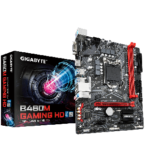 Gigabyte Motherboard B460M GAMING HD