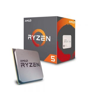 AMD Ryzen 5 2600X 2nd Generation CPU (16MB Cache, upto 4.20GHz)