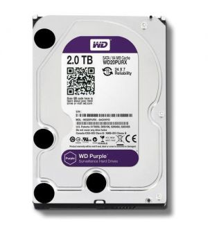 WD 2TB Purple Surveillance Internal Hard Drive