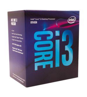 Intel Core i3-8100 8th Generation Processor (6M Cache, 3.60GHz)