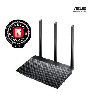 Asus AC750 Dual Band WiFi Router with high power design RT-AC53