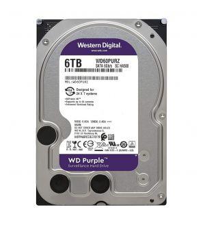 WD 6TB Purple Surveillance Internal Hard Drive