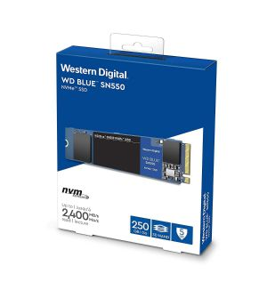 WD Blue 250GB SN550 NVMe SSD