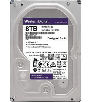 WD 8TB Purple Surveillance Internal Hard Drive