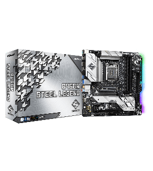 Asrock B460M Steel Legend Micro ATX Mother Board for AMD AM4