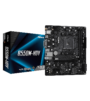 Asrock B550M-HDV Micro ATX Mother Board for AMD AM4