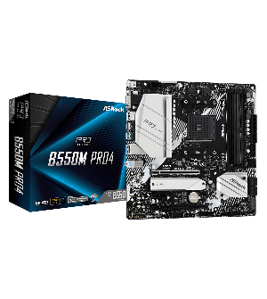 Asrock B550M Pro4 Micro ATX Mother Board for AMD AM4