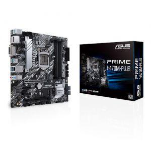 Asus Prime H470M-Plus Micro ATX Mother Board For Intel LGA1200