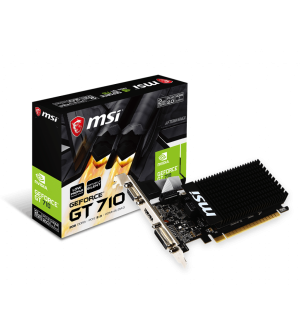 MSI GeForce GT710 2GB DDR3 LP Graphics Card