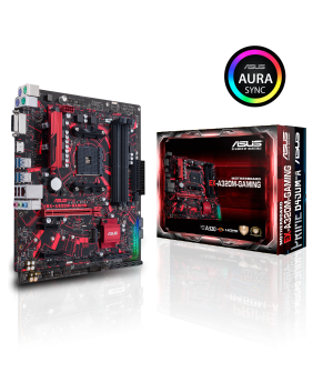 Asus Prime EX-A320M-Gaming Micro-ATX Mother Board for AMD AM4