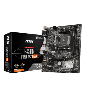 MSI B450M Pro-M2 Max Mcro-ATXMother Board for AMD AM4