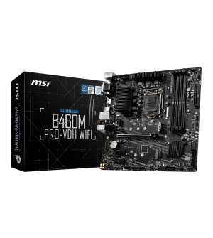 MSI B460M Pro-VDH WiFi Micro-ATX Mother Board for Intel LGA1200
