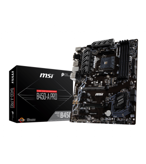 MSI B450-A Pro ATX Mother Board for AMD AM4