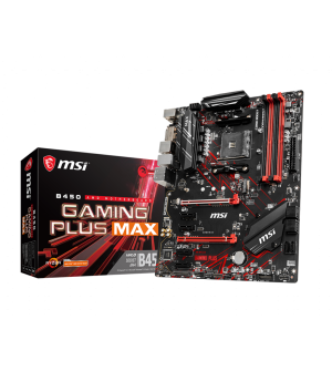 MSI B450 Gaming Plus Max ATX Mother Board for AMD AM4