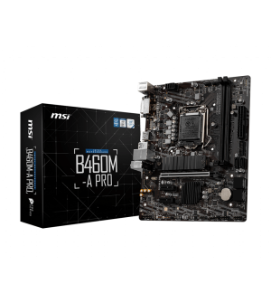 MSI B460M-A Pro Micro-ATX Mother Board for Intel LGA1200