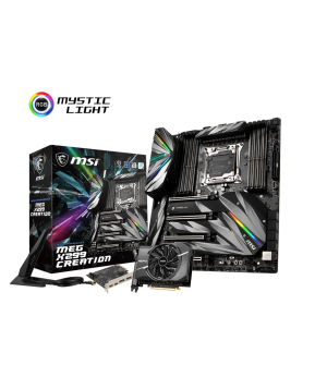 MSI MEG X299 Creation E-ATX Mother Board for Intel LGA2066