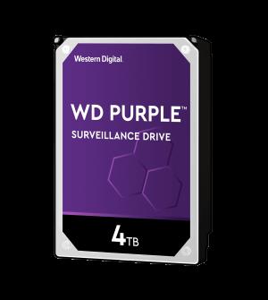 WD 4TB Purple Surveillance Internal Hard Drive
